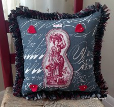Valentine's Day pillow front