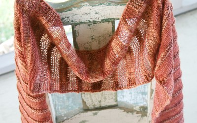 Sedona Wrap Knitting Pattern