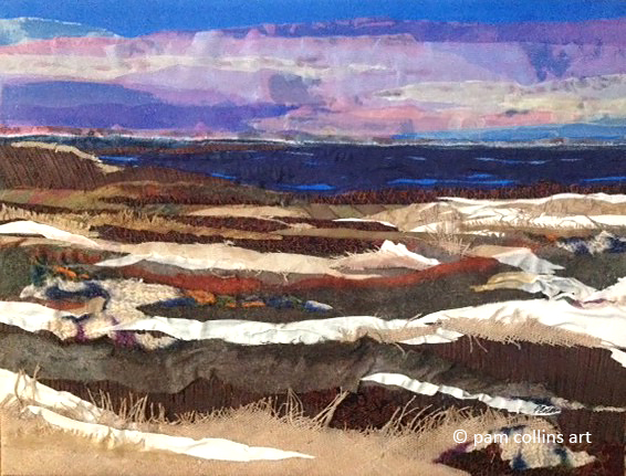 Winter Prairie © Pam Collins Art