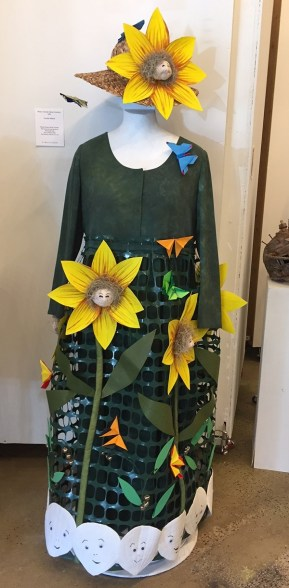 Carolyn Abbott garden dress.