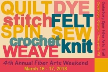 4th Annual Cedarburg Spur Weekend March 16 - 17, 2018.
