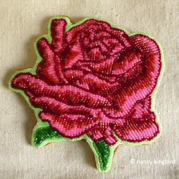 Nancy Kingbird Hand stitching
