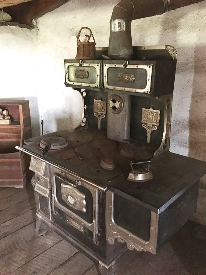 Inside Prairie Soddy