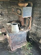 Dugout Sod House primitive living.
