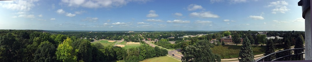 Top of Hermann Monument
