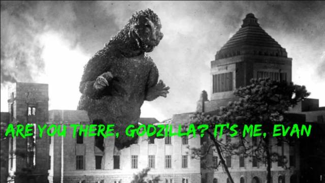 Are You There, Godzilla? It's Me, Evan: Gojira (1954)