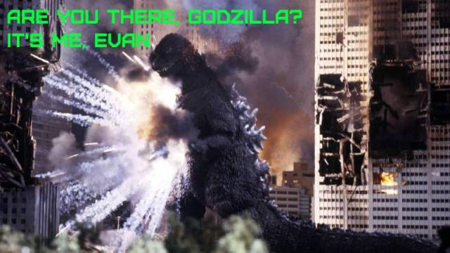 Are You There, Godzilla? It's Me, Evan: The Return of Godzilla (1984)