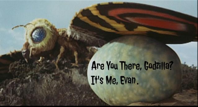 Are You There, Godzilla? It's Me, Evan: Mothra v. Godzilla (1964)