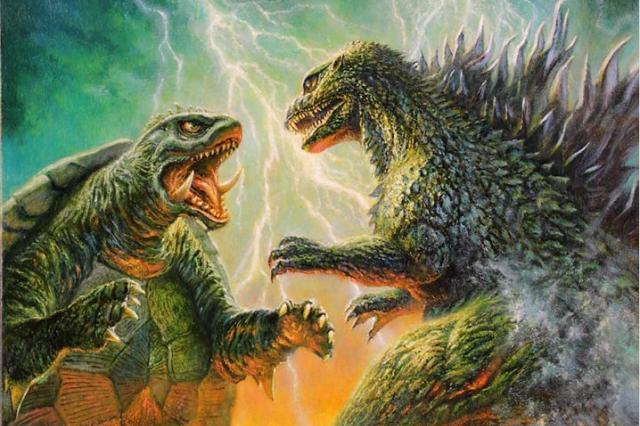 Godzilla vs. Gamera?