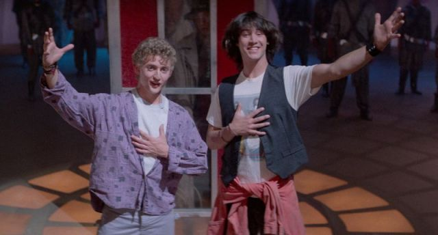 Keanu World Order: Bill & Ted's Excellent Adventure