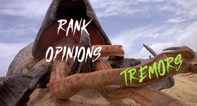 Rank Opinions: Tremors (or, The Top 6 Sandworm Movies That Aren't Dune or Beetlejuice)