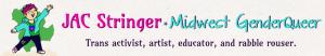 JAC Stringer, trans educator, trans activist, trans performer