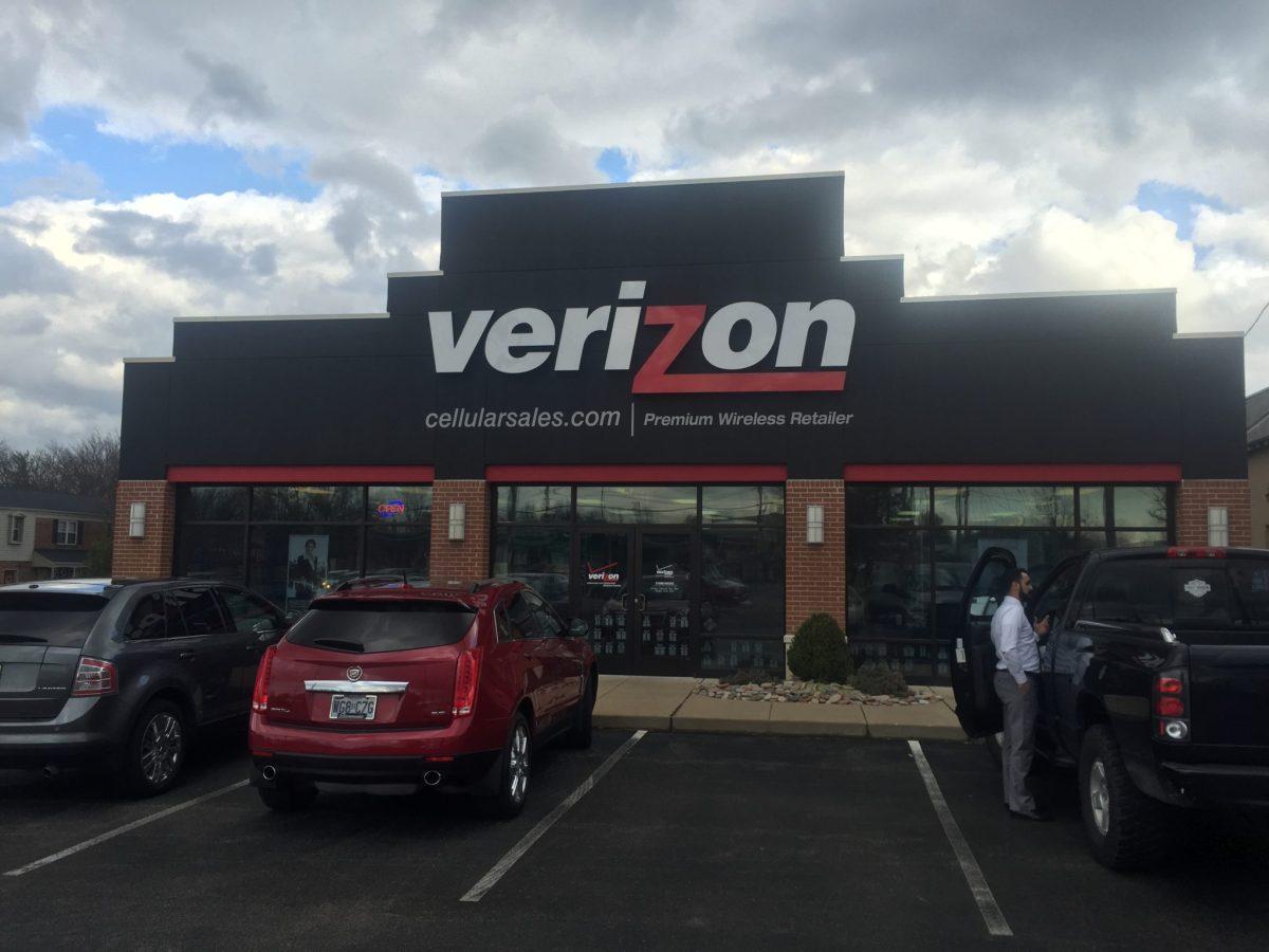 3M Security Window Film applied to Verizon in Missouri
