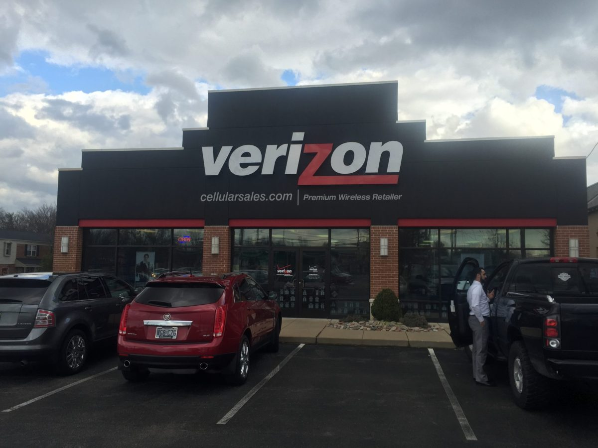 3M Security Window Film applied to Verizon in Missouri