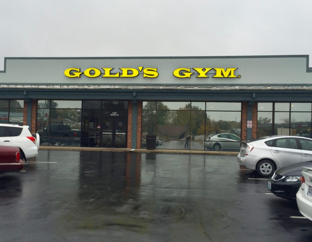 Gold's Gym Uses Window Film for Reducing Heat and Glare
