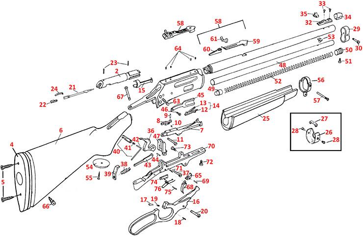 Marlin Model 336 Parts