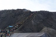 Stairs to the top of Bromo