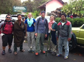 After our hike down from Ijen Crater - more foreigner photos!