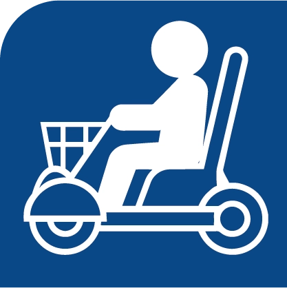 Disabled Living Aids Gloucestershire - mobility scooter