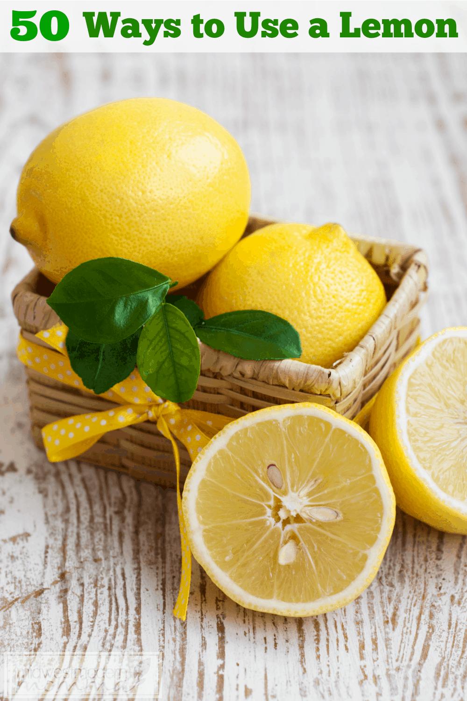 50 Ways to Use a Lemon