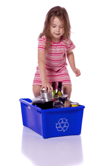 Keep little ones occupied by letting them help around the house