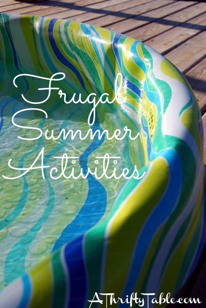 Frugal Summer Activities