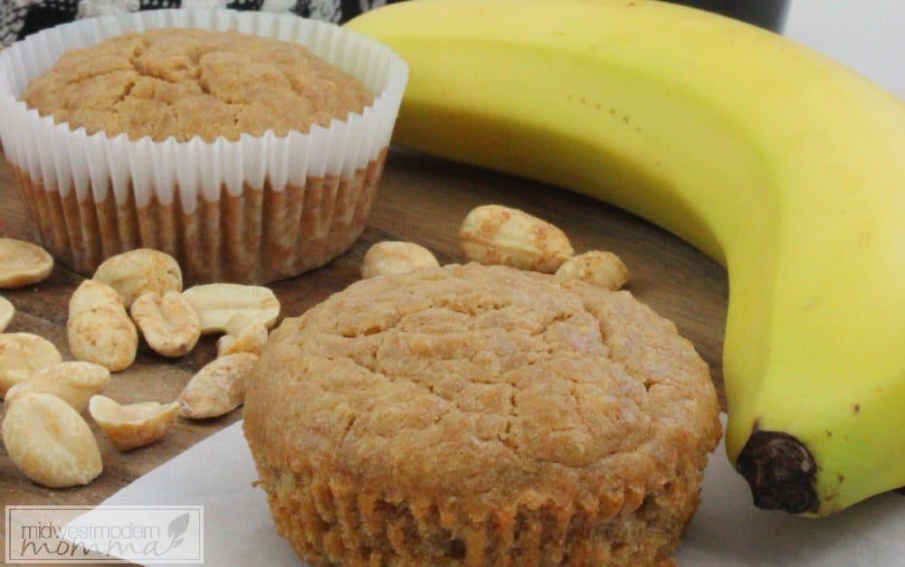 Peanut Butter & Banana Quinoa Muffin Recipe