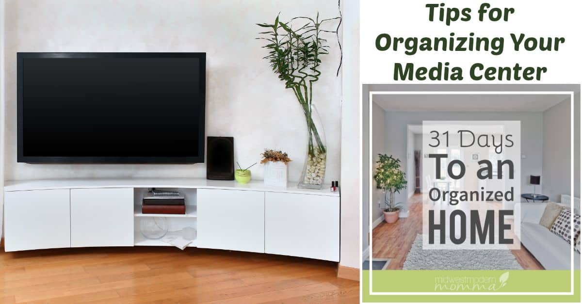 Organizing Your Media Center