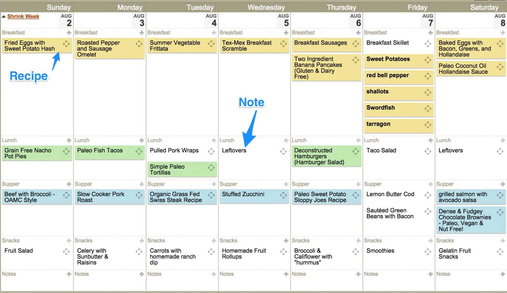 Using Plan to Eat for Meal Planning