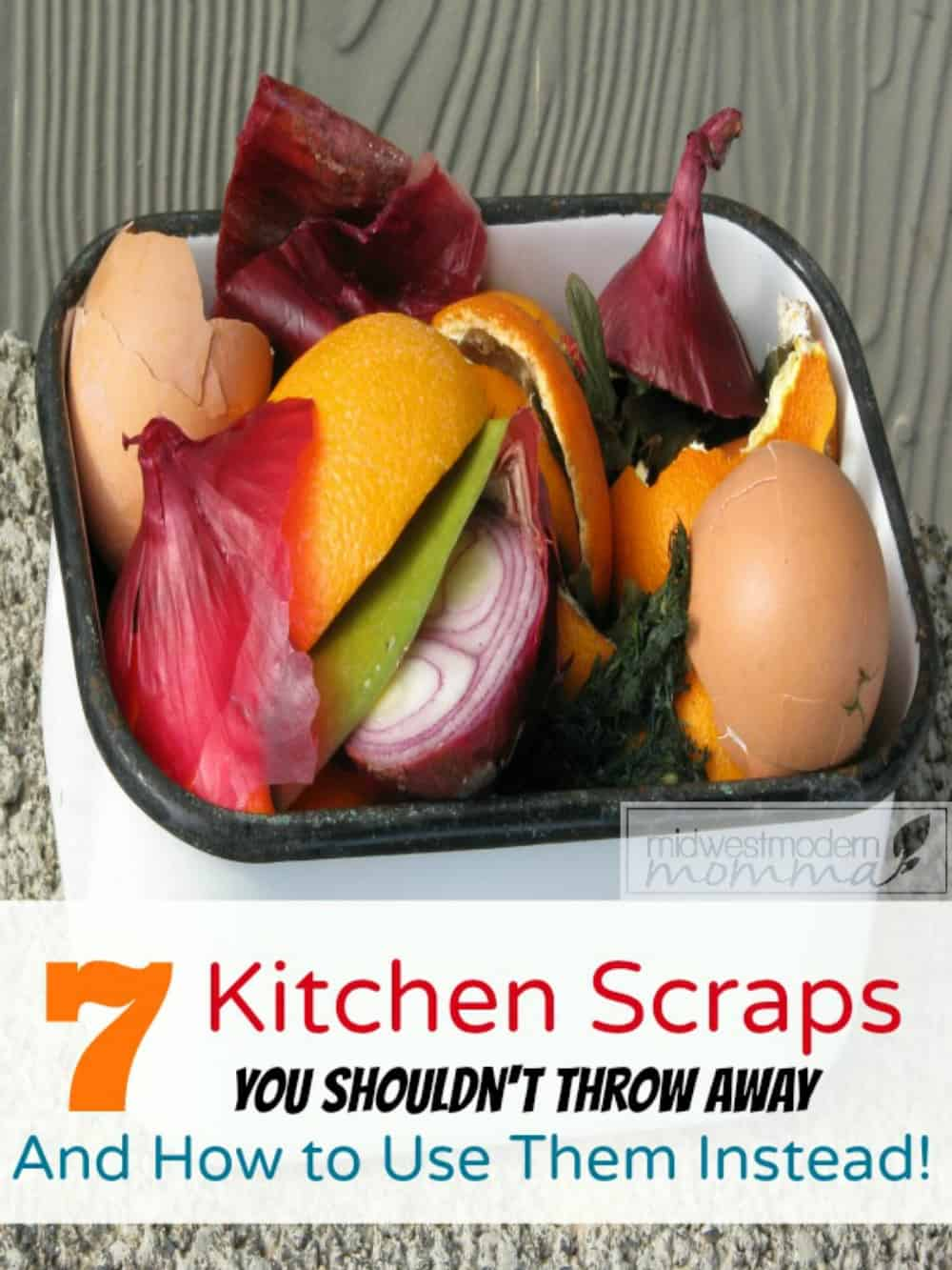 Foods Scraps may always seem like trash, but there are actually 7 Kitchen Food Scraps You Should Never Throw Away! Check out #4! It shocked me!