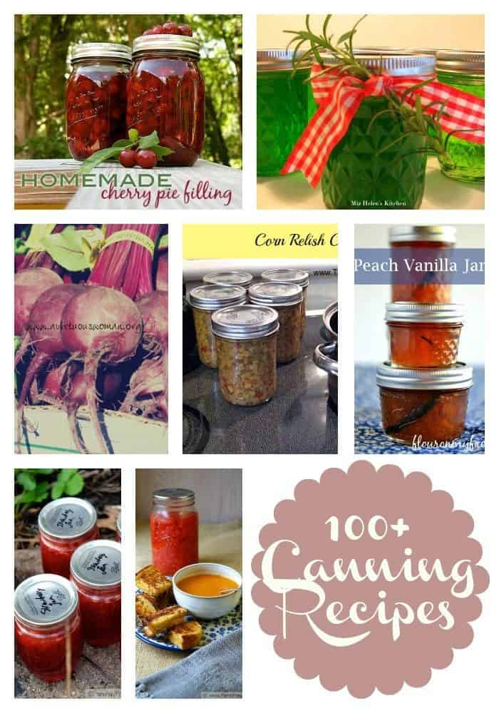 100+ Canning Recipes