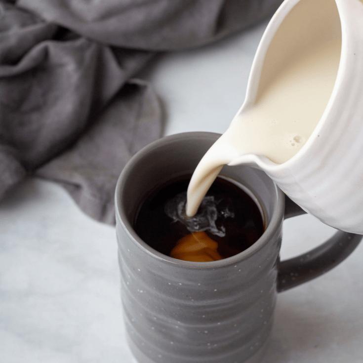 Homemade Coffee Creamer Base