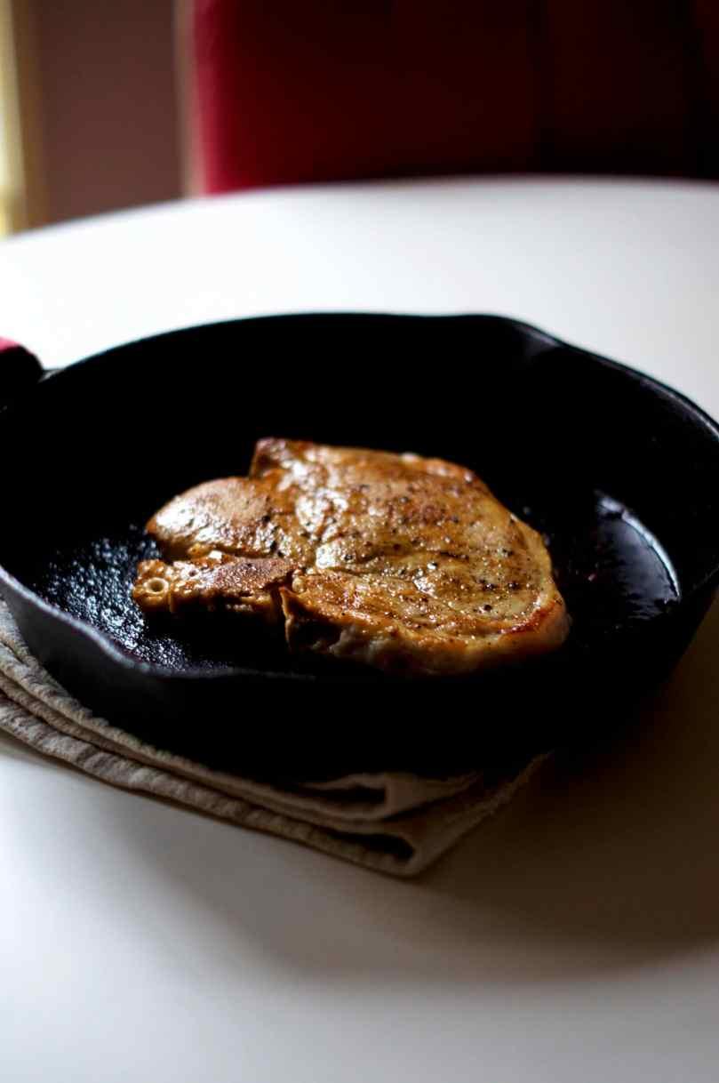 Cider Brined Pork Chop