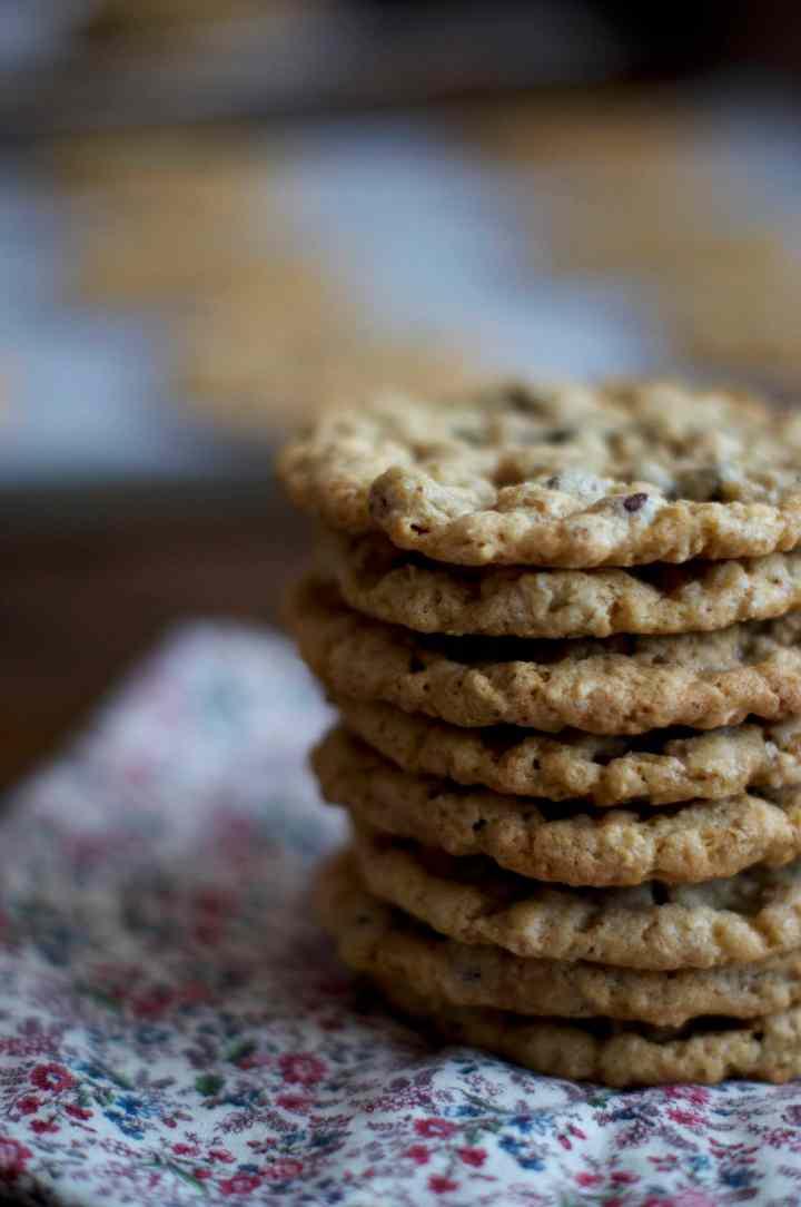 Oatmeal Chocolate Chip Cookies   via Midwest Nice Blog