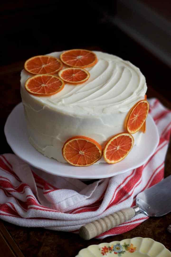 Orange Cream Cake | via Midwest Nice Blog