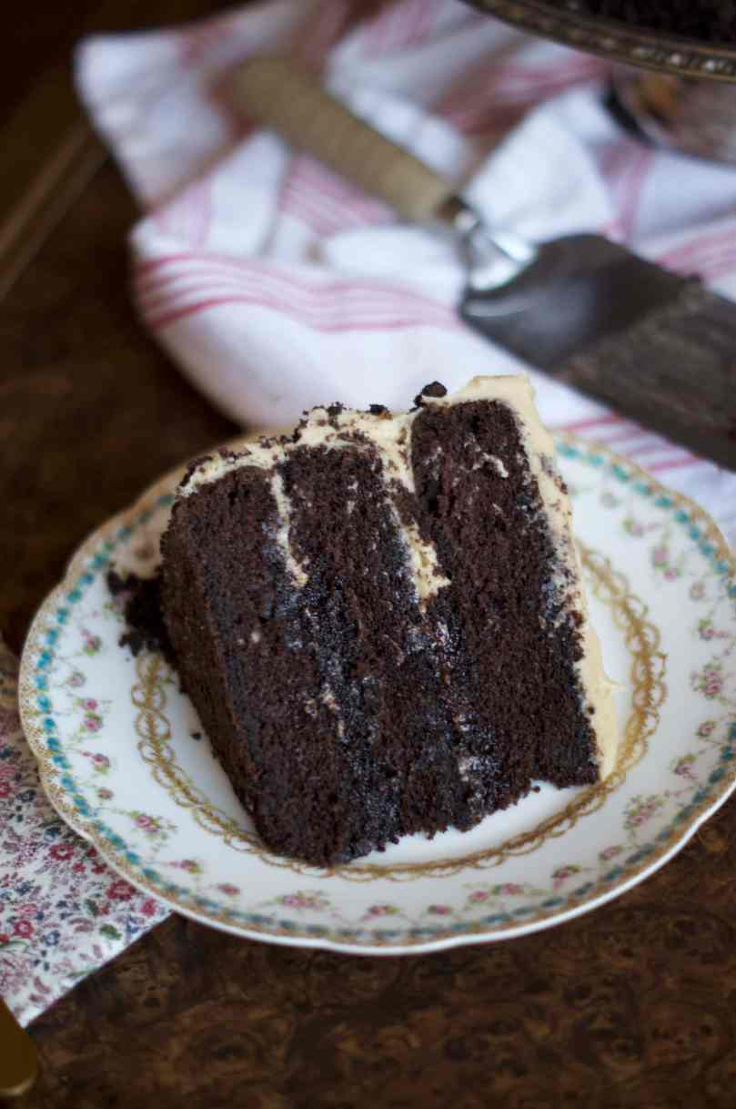 Chocolate Coffee Stout Cake | via Midwest Nice Blog