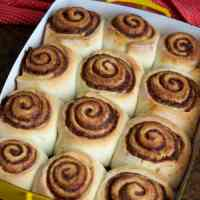 Cinnamon Rolls with Cream Cheese Frosting