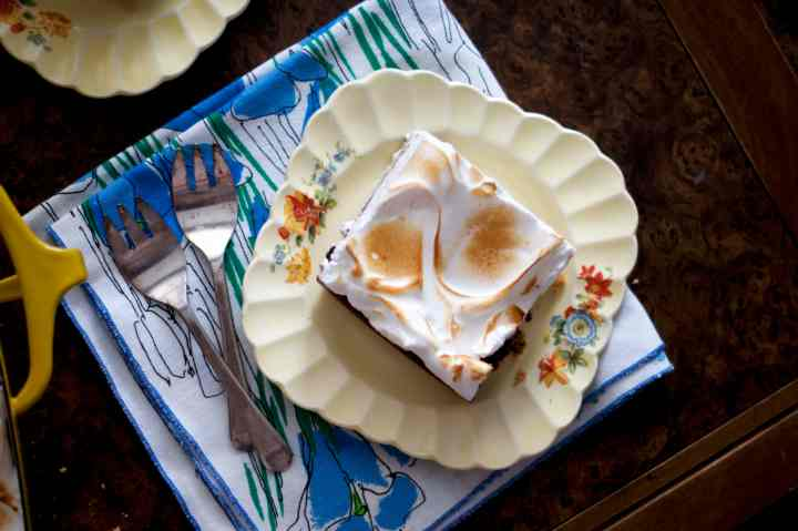 S'mores Brownies | via Midwest Nice Blog