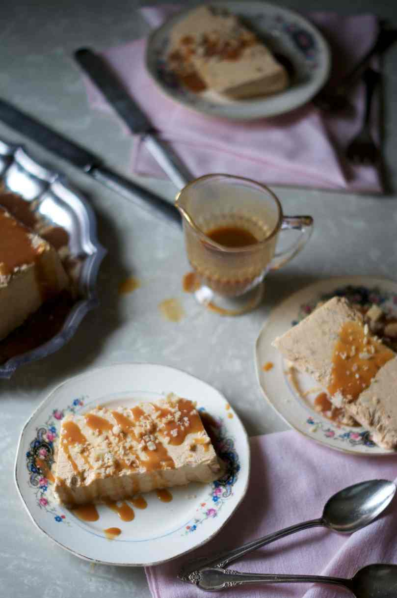 Pumpkin Pie-Scream Semifreddo via Midwest Nice Blog