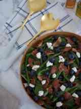 Blueberry Bacon Salad
