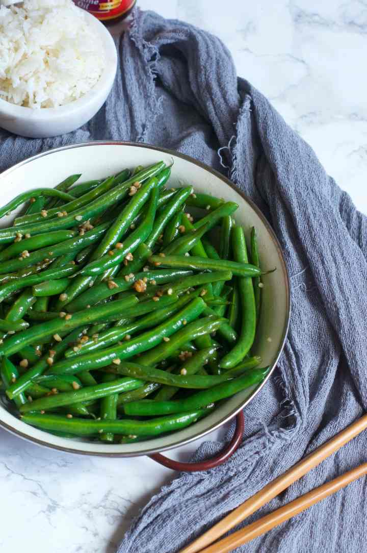 Sesame Garlic Green Beans