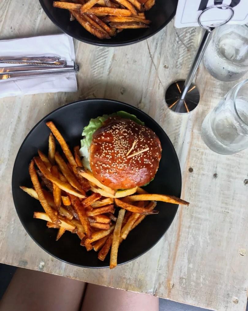 Golden Brown & Delicious Burger