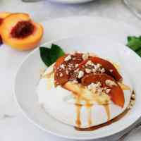 Peach Pavlovas (& a video)