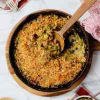 Brussels Sprouts Au Gratin (& working)
