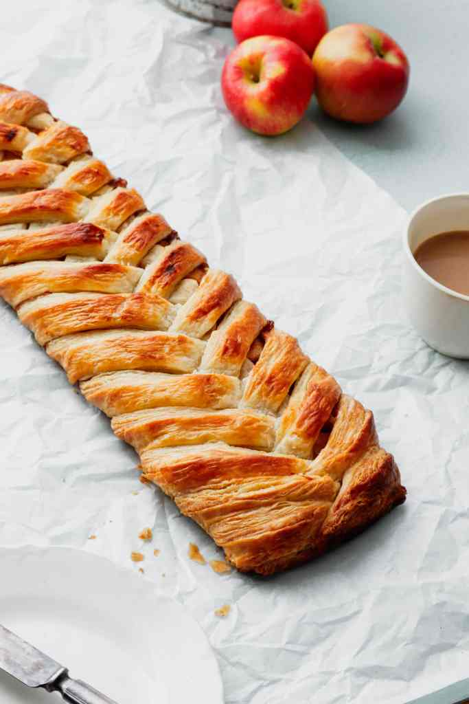 Braided Apple Danish Recipe