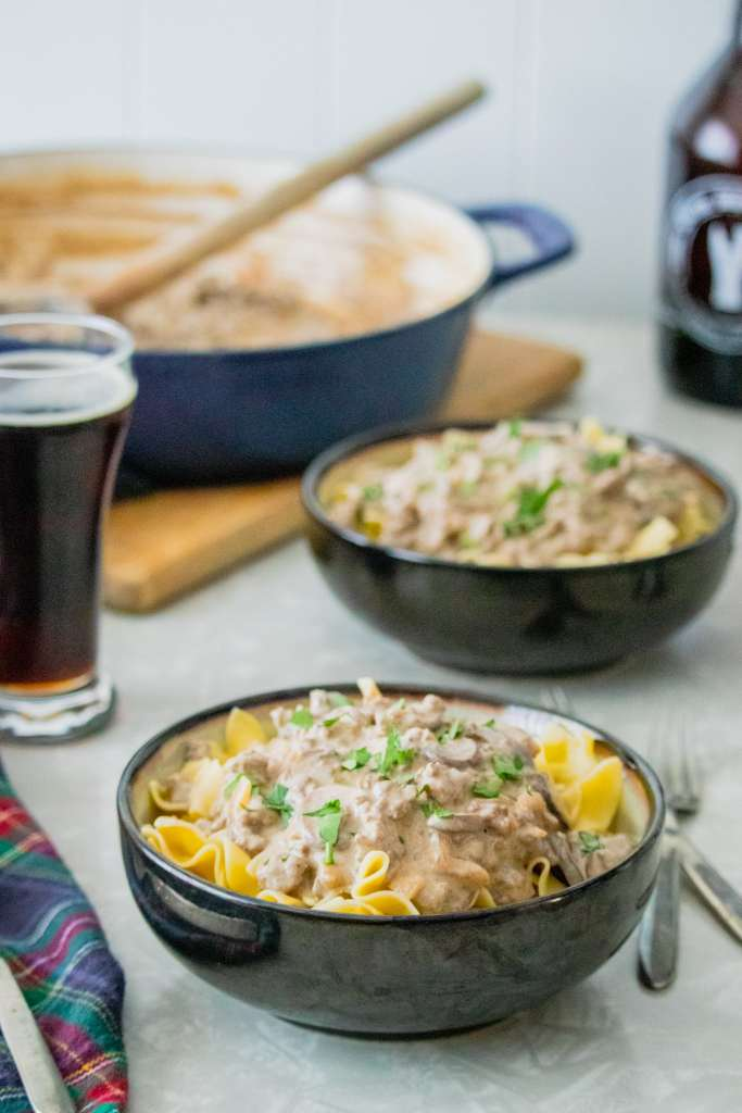 Deer & Beer Stroganoff Recipe