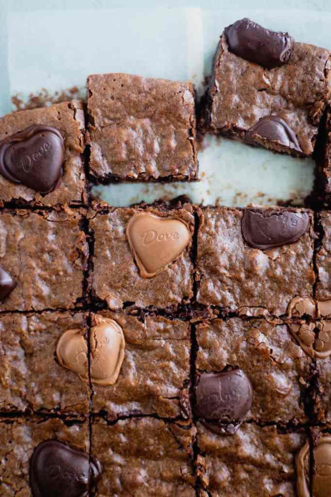 Triple Chocolate Truffle Brownies
