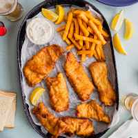 Beer Battered Fish Fry