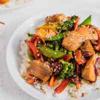 The Best Chicken and Veggie Stir Fry