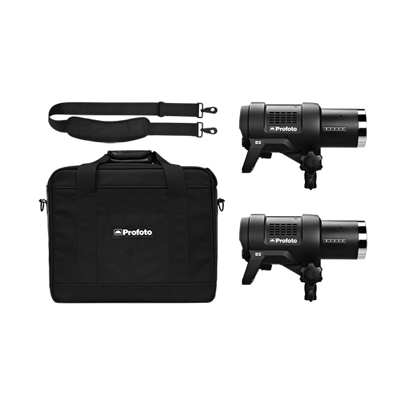 The Profoto is also available in a Two-Light Kit.